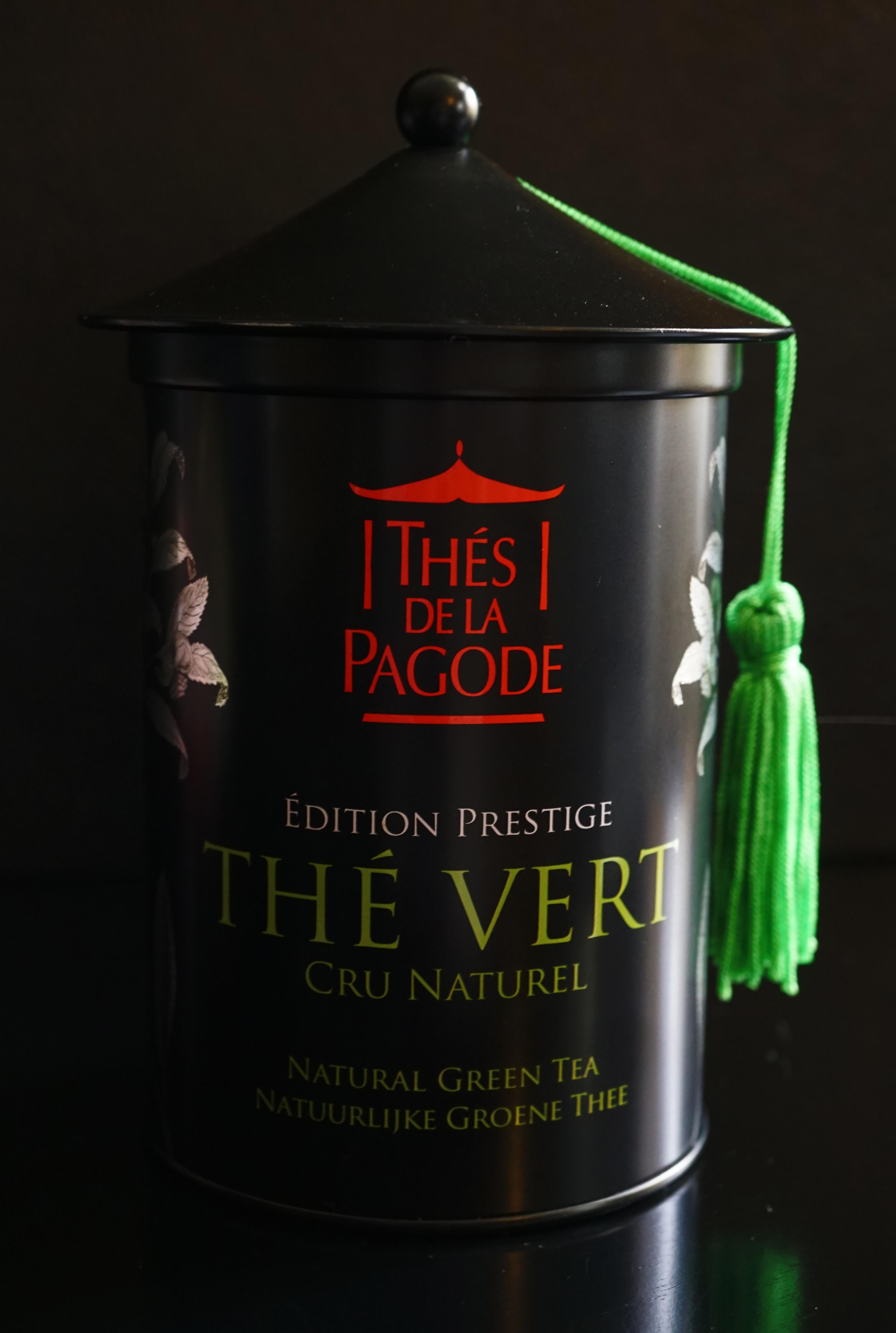 Thes de la Pagode Gunpowder Green Tea Image 1