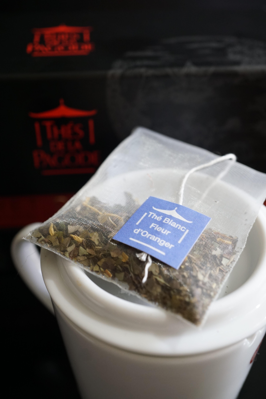 Thes de la Pagode Orange Blossom White Tea Image 1