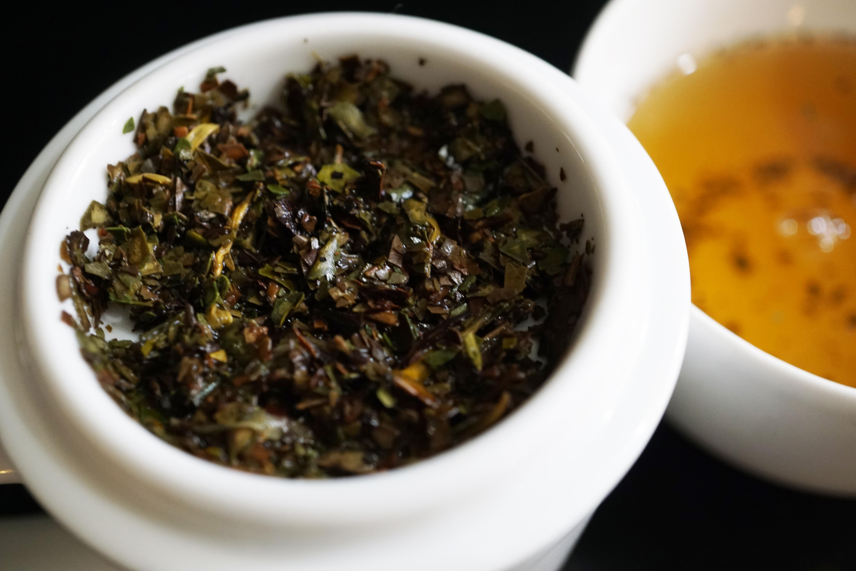 Thes de la Pagode Orange Blossom White Tea Image 3