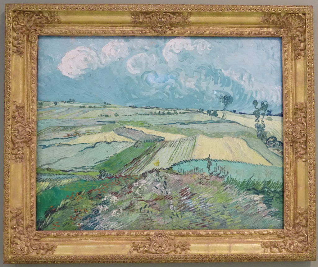 Wheat Fields after the Rain by Vincent van Gogh dated 1890 image 1