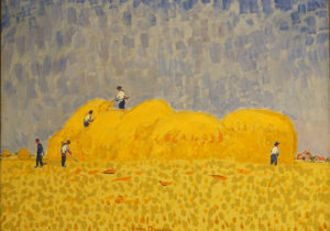 Haystacks or Les Meules by Kees Van Dongen, Dutch active in France dated 1904 to 1905 image 1