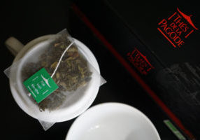 Thes de la Pagode Mint Green Tea Image 2
