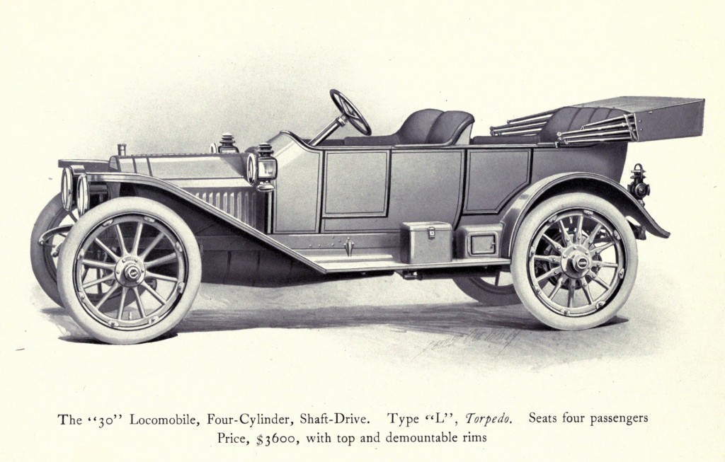 Model 30 Type L Illustrations - Locomobile Co 1912 - Page 1 -