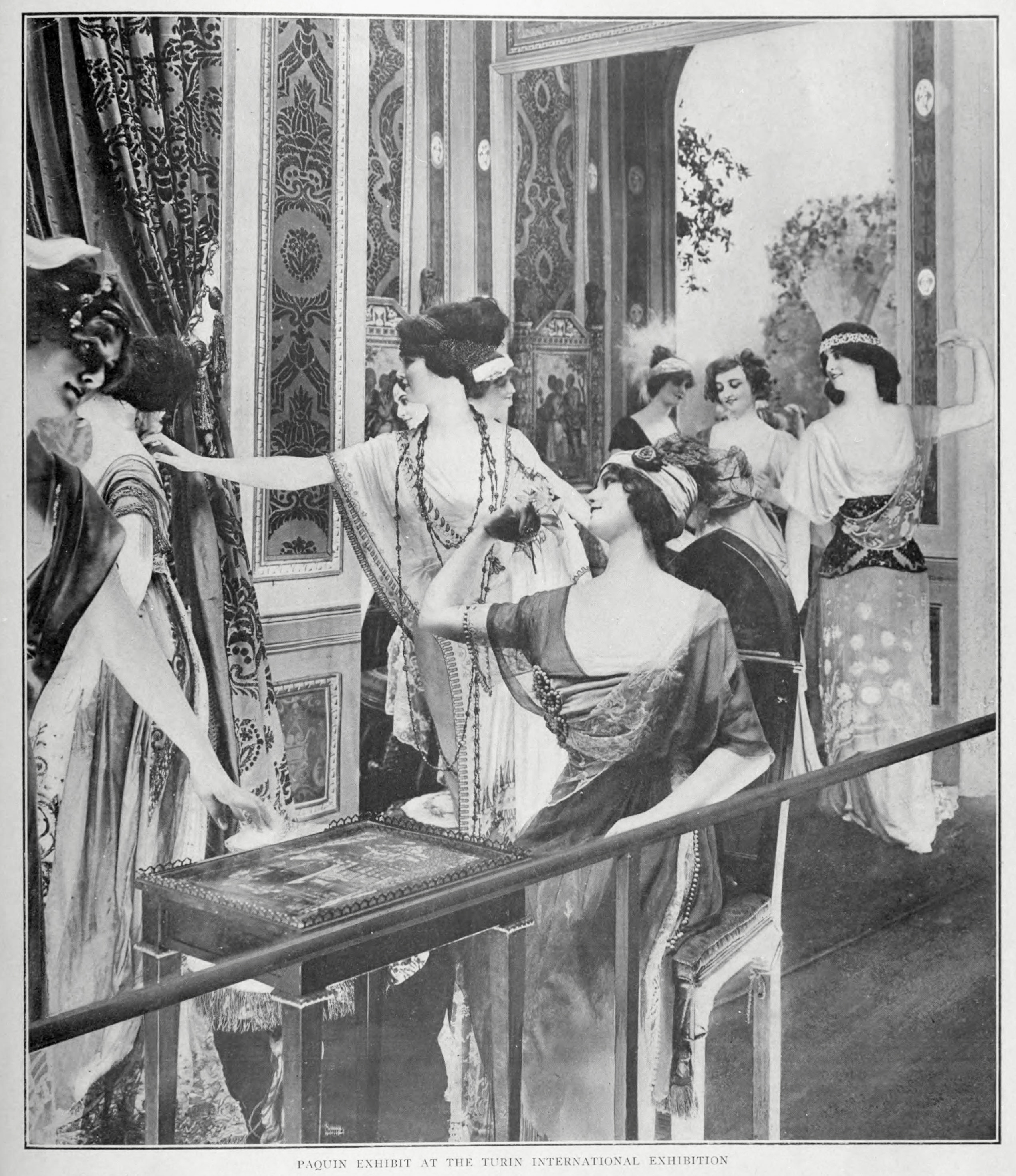 Wax figures at the Turin International Exhibition of 1911. Image via CTG publishing.