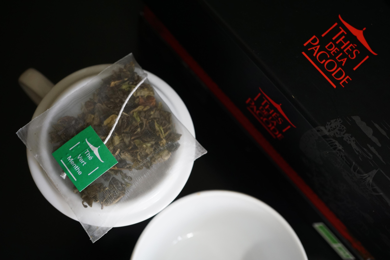 Thes de la Pagode Mint Green Tea Image 2