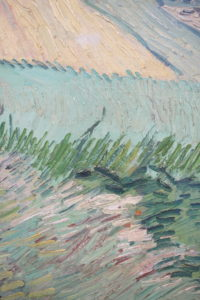 Wheat Fields after the Rain by Vincent van Gogh dated 1890 image 9